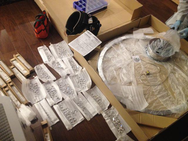 照明器具取付工事 名古屋市名東区
