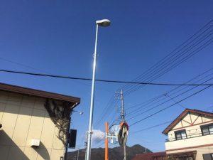 名古屋市守山区にて街路灯取替の電気工事を行いました!