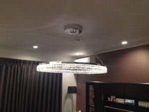 名古屋市名東区にて照明器具取付の電気工事を行いました!