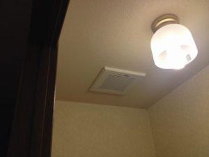 名古屋市西区にて換気扇取替工事を行いました!ありがとうございます!!