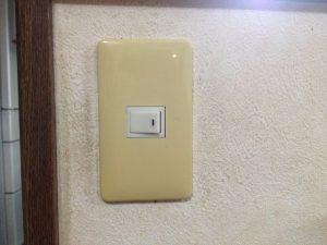 名古屋市東区にてスイッチ取替の電気工事を行いました!