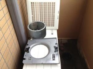 換気扇清掃 施工事例 名古屋市