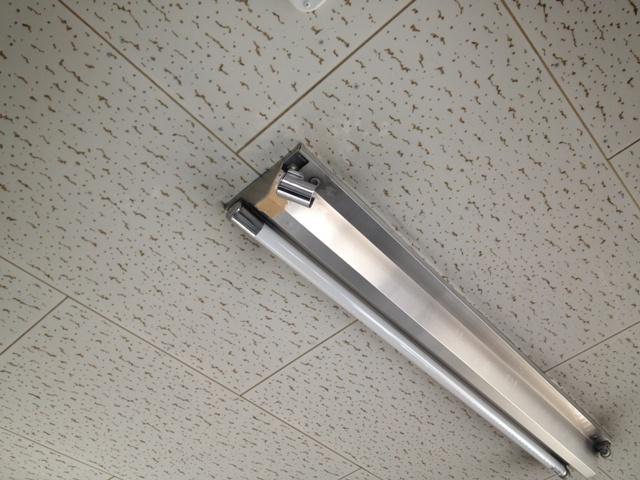 照明器具修理 施工事例 施工前
