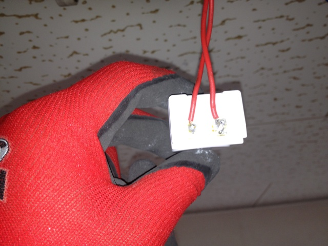 照明器具修理 施工事例 ハンダ