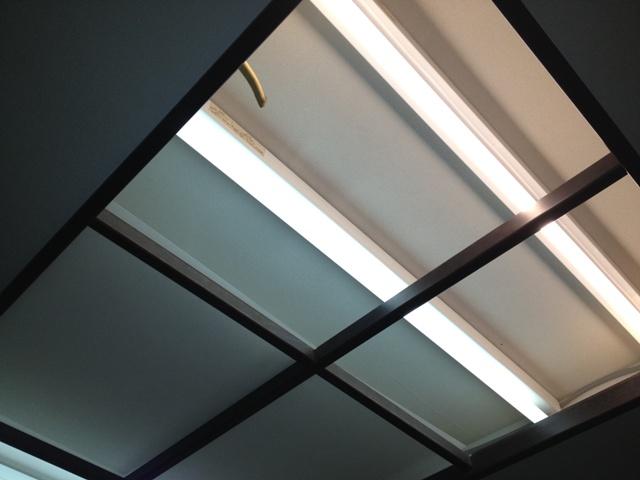 LED工事 名古屋市東区 施工前