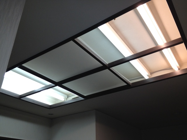 LED工事 名古屋市東区 施工中
