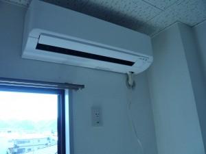 エアコン取付工事 名古屋市北区 施工事例 内機取付