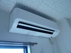 エアコン取付工事 名古屋市北区 施工事例 試運転
