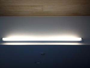 照明器具取付工事 名古屋市東区 施工中