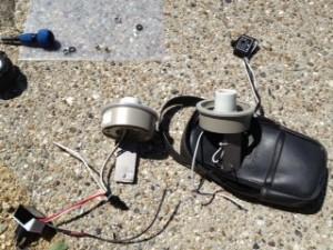 照明器具取替工事 施工中 名古屋市東区