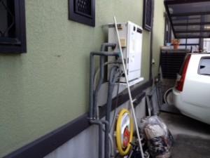 防犯灯設置工事 施工前 名古屋市熱田区