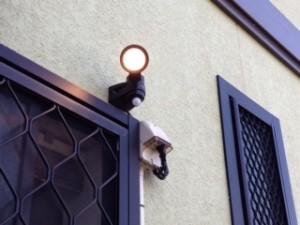 防犯灯設置工事 施工後 名古屋市熱田区