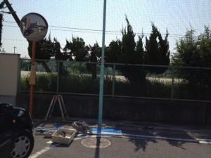 臨時電灯設備撤去工事 施工後 名古屋市東区