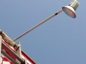 看板灯ランプ取替工事 施工後 名古屋市西区