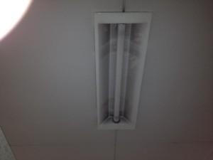 照明器具取替工事 施工前 名古屋市中区