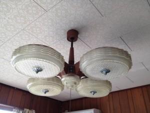照明器具取替工事 施工前 名古屋市東区