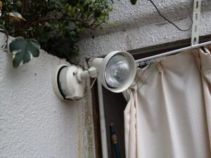防犯灯設置工事 施工後 名古屋市中区