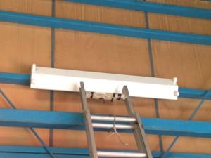 照明器具取替工事 施工前 名古屋市中村区