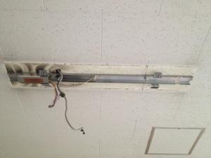照明器具取替工事 名古屋市中区 施工前