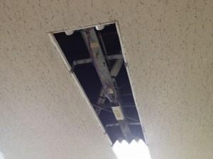 安定器取替工事 名古屋市中区 施工前