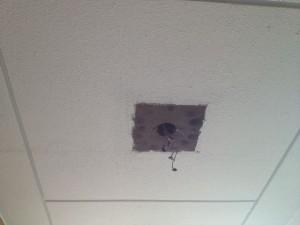 照明器具取替工事 名古屋市名東区 施工中
