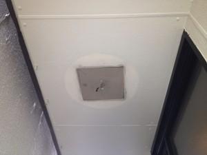 照明器具取替工事 名古屋市中区 施工中
