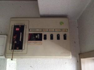 分電盤取替工事 名古屋市中区 施工前