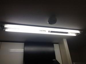 照明器具取替工事 名古屋市昭和区 施工前