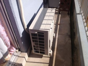 エアコン取付工事 名古屋市北区 施工後