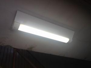 照明器具取替工事 名古屋市中村区 施工後