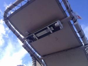 照明器具取替工事 名古屋市港区 施工前