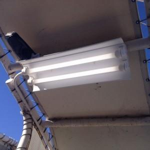 照明器具取替工事 名古屋市港区 施工後