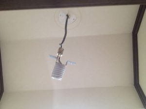 照明器具取替工事 名古屋市天白区 施工前