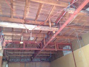 照明器具取付工事 名古屋市港区 施工前