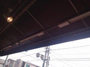 LED工事 名古屋市西区 施工前