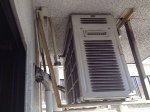 エアコン取替工事 名古屋市昭和区 施工前