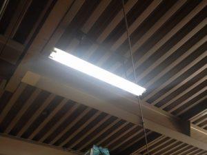 照明器具取替工事 名古屋市北区 施工後