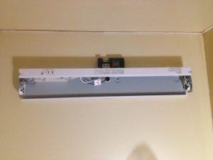 照明器具取替工事 名古屋市東区 施工中