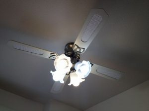 照明器具取付工事 名古屋市中区 施工中