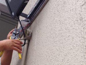 名古屋市中川区にて外灯取換工事を行いました。