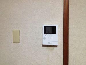 名古屋市昭和区ぶてインターホン取換工事を行ってきました。