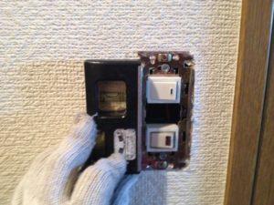愛知県小牧市にてスイッチ取換え工事を行ってきました。