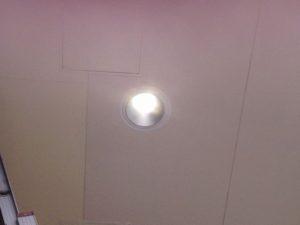 名古屋市昭和区にてダウンライトの取替工事を行いました。