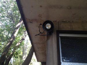 外灯取替工事 名古屋市昭和区 施工前