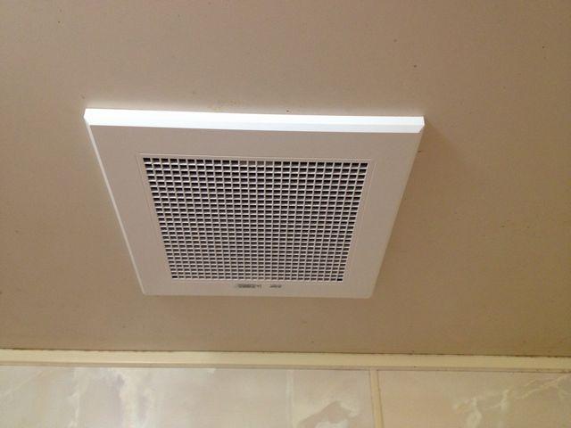浴室換気扇の電気工事を行ってきました。愛知県北名古屋市