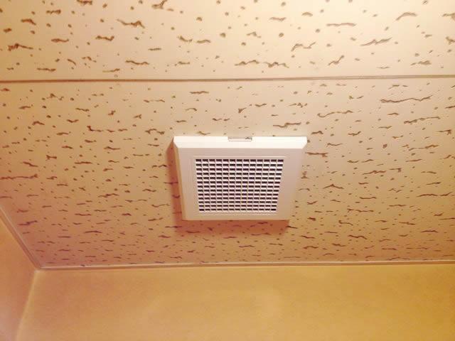 名古屋市名東区 トイレの換気扇交換の電気工事を行いました!