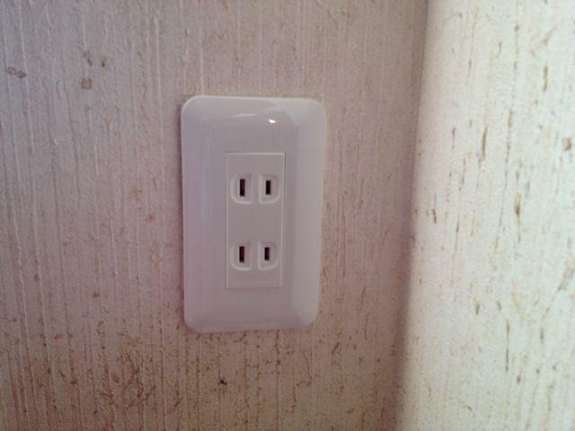 コンセント取換え電気工事のご依頼をいただきました!(名古屋市南区)