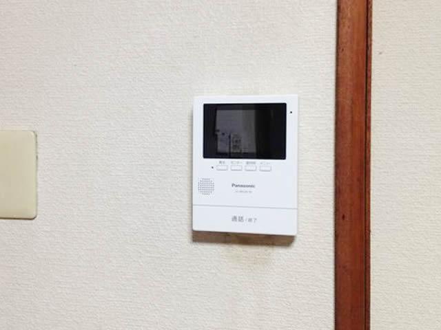 パナソニック ドアホン 名古屋市昭和区インターホン取換工事を行ってきました。