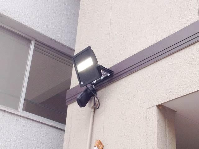 外灯取換の電気工事のご依頼をいただきました!(名古屋市中川区)