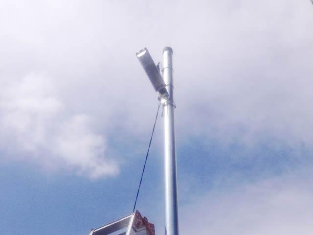 街路灯交換電気工事を行いました!(名古屋市守山区)